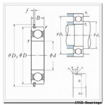 45 mm x 100 mm x 25 mm  CYSD 30309 tapered roller bearings